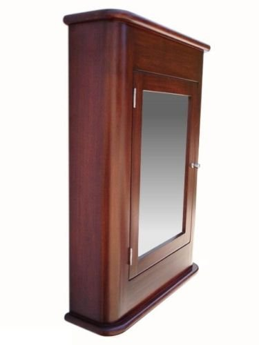 Madrid Medicine Cabinet / Cherry / Solid Wood & handmade / Surface mount by D&E Wood Craft Cabinets (Image #3)