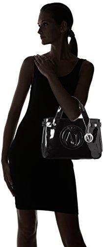 Armani Jeans 922526CC855, Bolso Mujer Negro (Nero 00020)