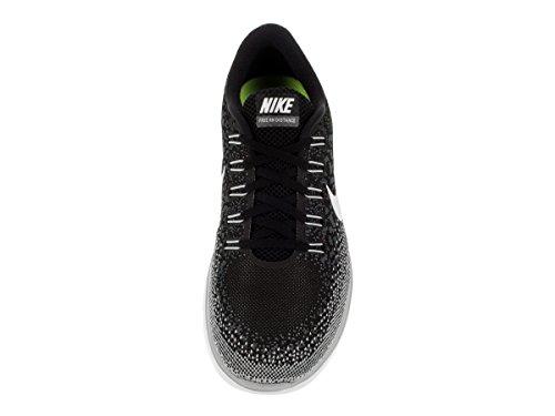 Nike Free RN Distance Scarpe da Corsa, Nero Black/White-Dark Grey
