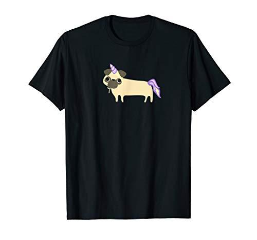 Pug in Unicorn Costume Shirt, Funny Cute Dog Halloween -