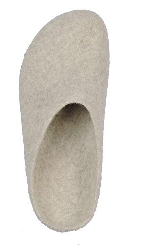 17709 Natural Gray 709 AN Unisex Erwachsene Pantoffeln MagicFelt U6HqwW