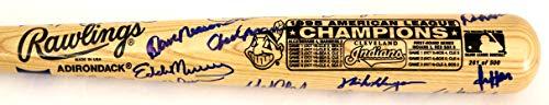 Cleveland Indians 1995 World Series Team Signed Autographed Baseball Bat - 22 Autographs - Thome Vizquel Alomar