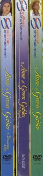 Anne of Green Gables / Anne Of Green Gables The Sequel / Anne Of Green Gables The Continuing Story (3 Pack) English Version With Spanish and French Version Included