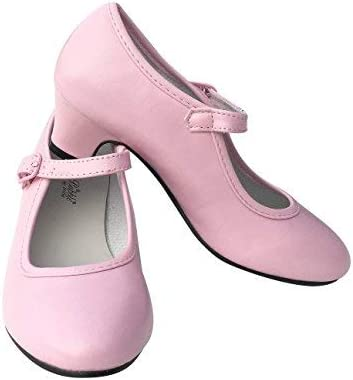 Rose Taille 24-17 cm, Rose La Se/ñorita Chaussures Flamenco Espagnol Princesse de Danse