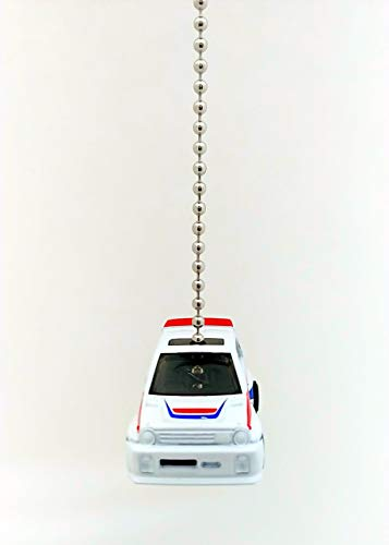 Honda Diecast Cars Ceiling Fan Light Pull Ornaments Hot Wheels 1:64 (1985 White Honda City Turbo II) - - Amazon.com