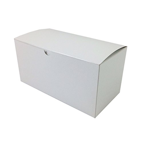 """Black Cat Avenue 9""""x4-1/2""""x4-1/2"""" White Gloss Gift Boxes 5 Count"""
