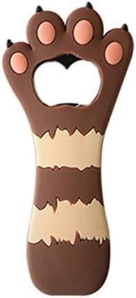 Sacacorchos portátil con forma de pata de gato abridor de botellas creativo de vino abridor de barra de cristal de cerveza herramientas de cocina