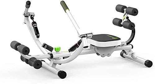 LITING Home Rowing Machine, Roeimachine Multifunctionele Machine Indoor Fitness Training Equipment (Kleur : Wit, Maat…