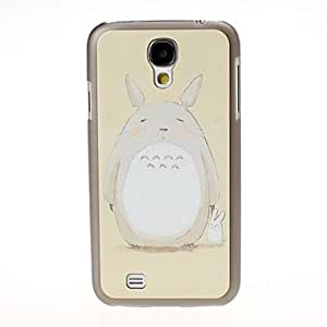 xiao White Rabbit Pattern Black Hard Case Cover for Samsung Galaxy S4 i9500