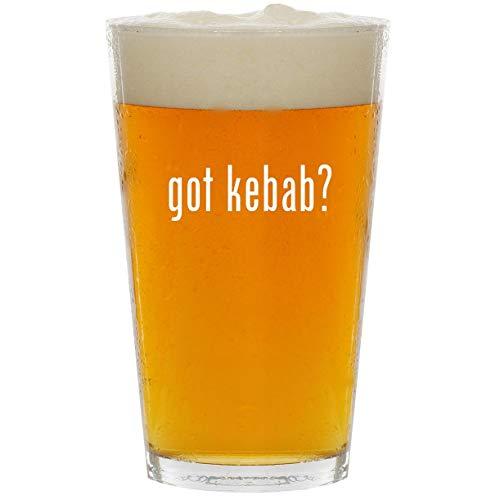 got kebab? - Glass 16oz Beer Pint