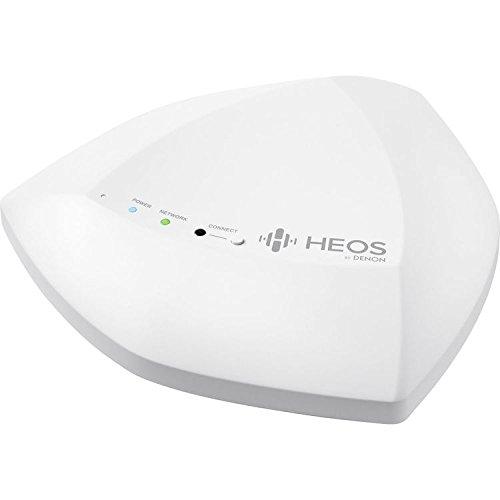 Denon HEOS Extend Dual Band Wireless Range Extender – Wireless Multiroom Sound Systems – White