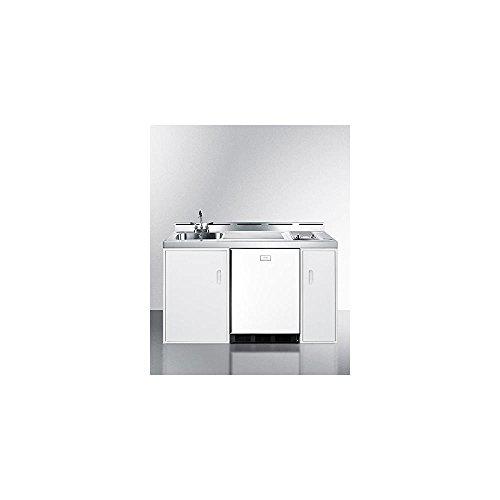 Summit C60ELGLASS Kitchen Combination White