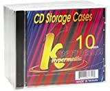 Khypermedia K-Cdpsbk/10 Full Size Cd Jewel Cases, 10 Pack