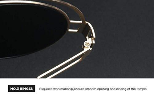 c léger Ultra Miroir YTTY de Rond de Mode Dames Soleil Lunettes x0UTvq