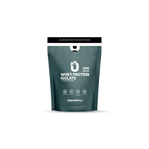 Fundamentals Whey Protein Isolate – Protein shake – Eiwitpoeder – Lactose vrij – Vrij van kleur/smaak stoffen – 1 kg
