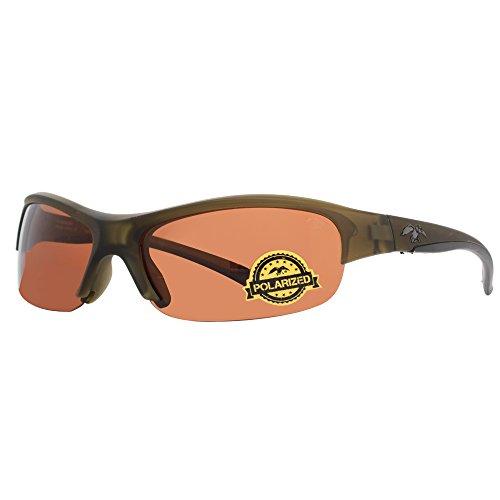 duck commander Men's D852 ORN Polarized Sunglasses, Clear Fatigue - Commander Sunglasses Duck