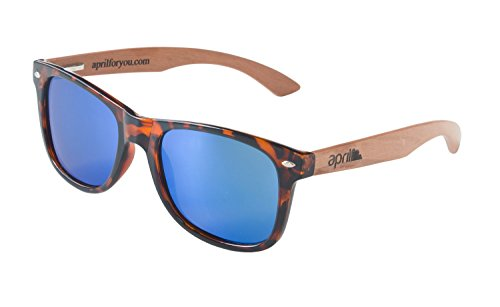 de a 262 Modelo de hombre mujer sol madera W natural april® Gafas con patillas polarizadas unisex mano hechas 45TvZwq
