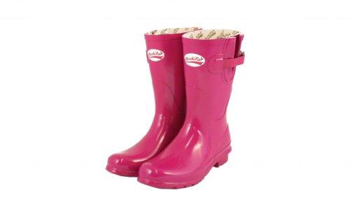 Lebendiges Pink 4 Gloss Wellies Short Rockfish qwUpRT1w