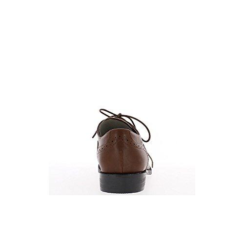 Cammello Richelieux micro 2,5 cm traforato tacco