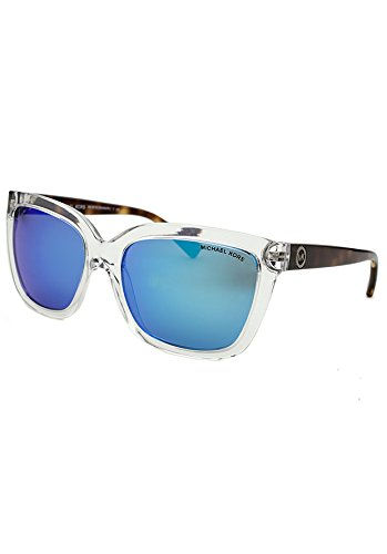 Michael Kors SANDESTIN MK6016 Sunglasses 305025-54 - Clear / Tortoise Frame, Blue - Kors For Sunglasses Men Michael