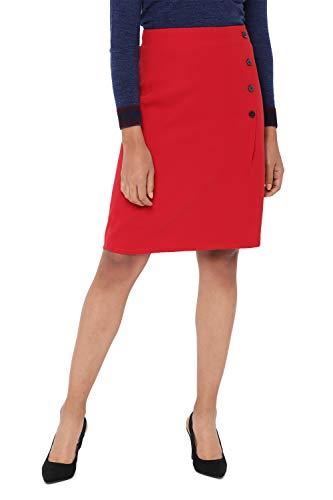 Allen Solly Synthetic Skort Skirt