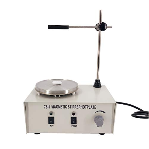 SYLPHID 110V/50Hz 78-1 Magnetic Stirrer Heating Mixer Hot Plate Magnetic Stirrer Machine 1000ML