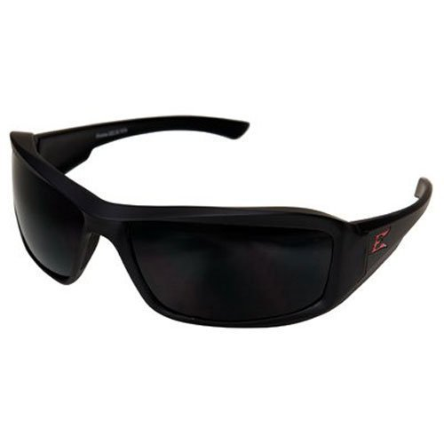 Edge Eyewear Txb236 Brazeau Safety Glasses Torque Series Black W/ Smoke Lens(Sold By 2 (Series Safety Glasses Black Lens)