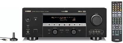 Yamaha HTR-5860 XM-Ready 7.1-Channel A V Surround Receiver Black Discontinued