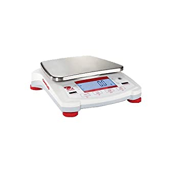Ohaus Navigator NV4101 NV Series Portable Scale, 4100g Capacity, 0.2g Readability