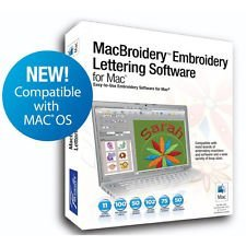 MacBroidery Embroidery Lettering Software SARES