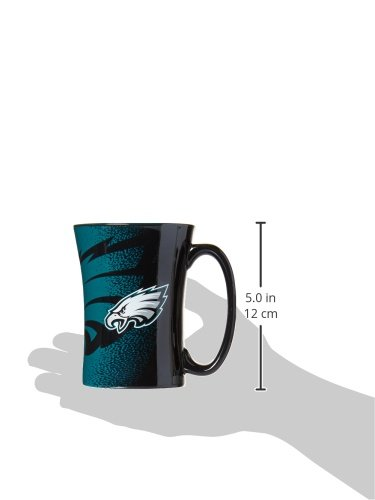 14-ounce NFL Philadelphia Eagles Mocha Mug Black