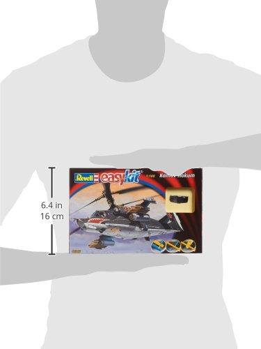 Kamov Hokum im Ma/ßstab 1:100 Revell 06648 Easy Kit Steckmodell