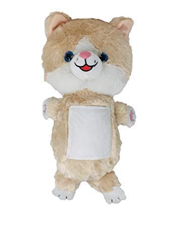 (Mindscope Belt Buddies Kids Seat Belt Cover Plush Toy Nap Time Pillow (Cat))