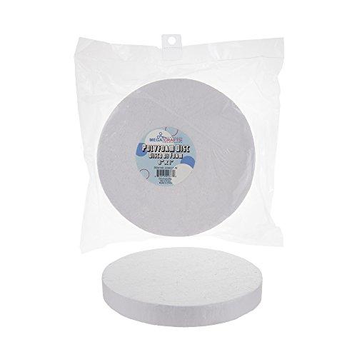 8' Styrofoam Ball (Mega Crafts 2 Pcs White Poly Craft Foam 8