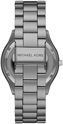 Michael Kors Women's Slim Runway Three-Hand Stainless Steel Quartz Watch WeeklyReviewer