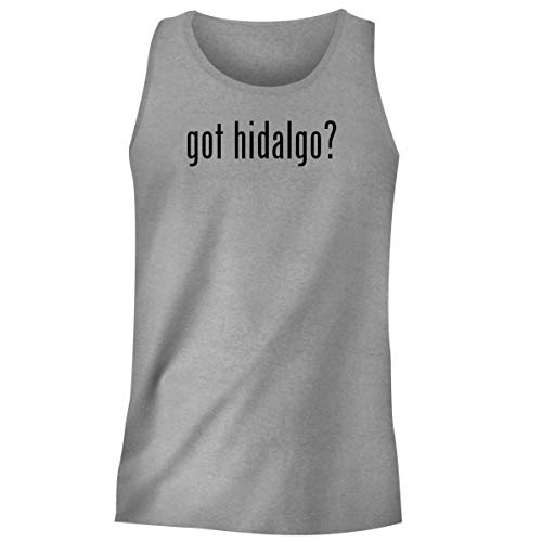 One Legging it Around got Hidalgo? - Men's Funny Soft Adult Tank Top, Heather, Small