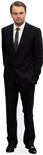 Leonardo Di Caprio (Tie) Life Size Cutout by Celebrity Cutouts by Celebrity Cutouts