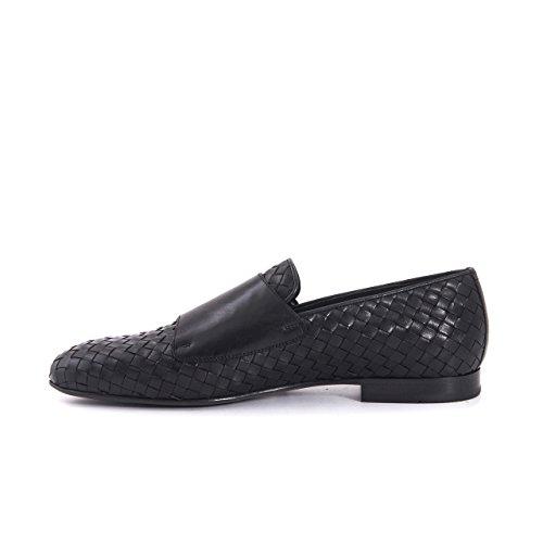 Mannen Slipper Loafer Shoe Leer Gevlochten Mocassins Zomer Schoen Echt Leer, Schoenleer Half Lederen Zool Elegant Leisure Dagelijkse Gang Van Zaken Premium Schoen Zwart