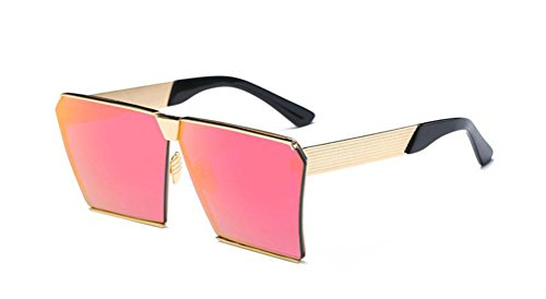GAMT Fashion Mirrored Square Designer Sunglasses for Women Driving UV400 - Block How Uv Rays Sunglasses