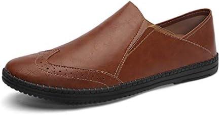 メンズ 靴 ドライビングシューズ ローファー スリッポン ビジネスシューズ 軽量 革靴 紳士靴 カジュアル 旅行靴 幅広 外反母趾 靴 春 夏 秋 デッキシューズ ローカット 歩きやすい 大きなサイズ モカシン シューズ