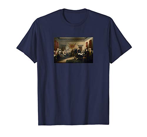 Signing The Declaration Of Independence T-Shirt (Signing Of The Declaration Of Independence Facts)