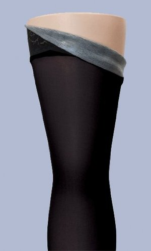 SIGVARIS Women's SOFT OPAQUE 840 Open Toe Compression Pantyhose 20-30mmHg