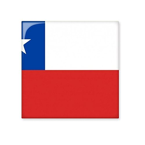 high-quality Chile National Flag South America Country Symbol Mark Pattern Ceramic Bisque Tiles for Decorating Bathroom Decor Kitchen Ceramic Tiles Wall Tiles