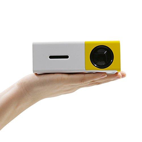 Mini Beamer, Amytech mini Mobiler Projektor 60