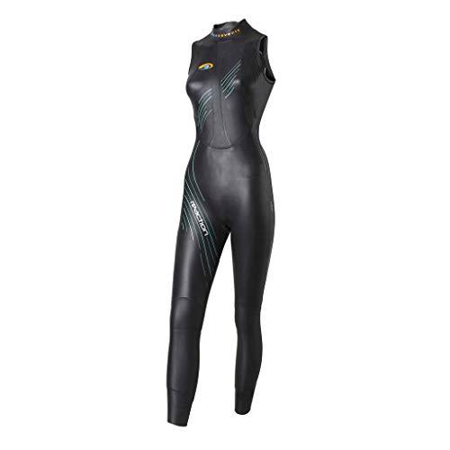 blueseventy 2019 Women's Reaction Sleeveless Triathlon Wetsuit - for Open Water Swimming - Ironman & USAT Approved - (WL)