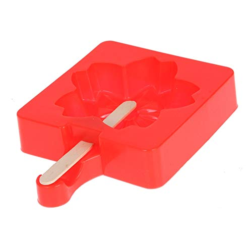 Labu Store Snowflake Shaped Silicone DIY Ice Cream Mold Maker zer Icecream Tube with Sticks Jelly Pudding Mould Kitchen Tools