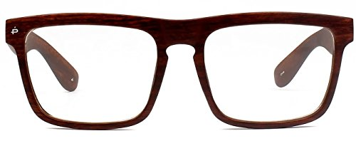 "PRIVÉ REVAUX ICON Collection ""The Savant"" Handcrafted Designer Eyewear With Anti Blue-Light Blocking Lenses (Brown - Scratches Remove To From How Sunglasses"