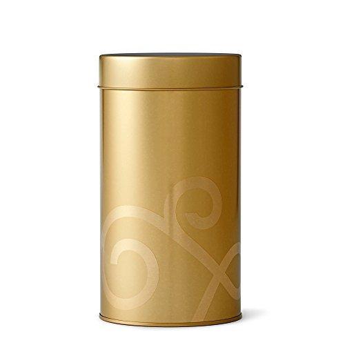 Gold Teavana Tea Tin (Leaf Gold Tin)