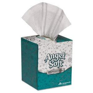 - Georgia Pacific Professional Premium Facial Tissue in Cube Box, 96 Sheets/Box, 36 Boxes/Carton