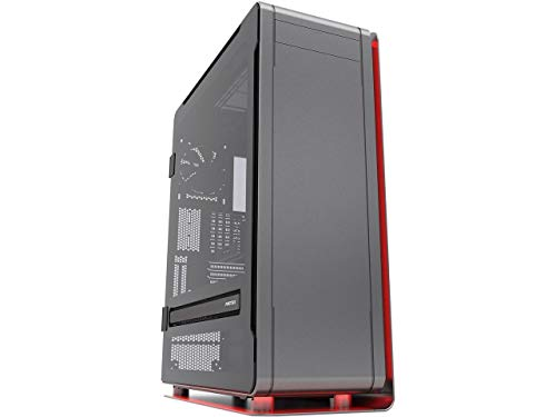 Phanteks ENTHOO ELITE PH-ES916E_AG Anthracite Grey Anodized Aluminum Panels, Powder Coated Steel Chassis, Tempered Glass Side Panel ATX Super Tower Computer Case